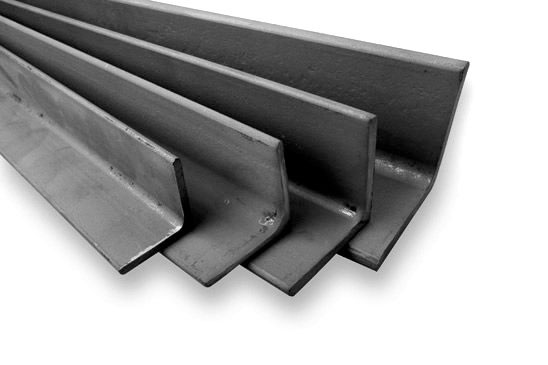 Angular steel sections